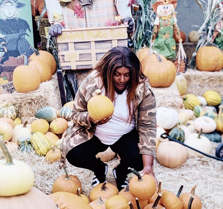 Piedmont Avenue Pumpkin Patch :)